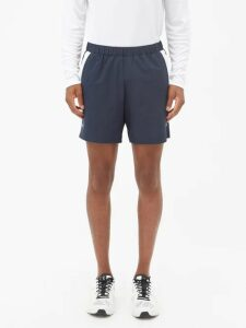 Martine Rose - Double Pocket Striped Linen Trousers - Mens - Red