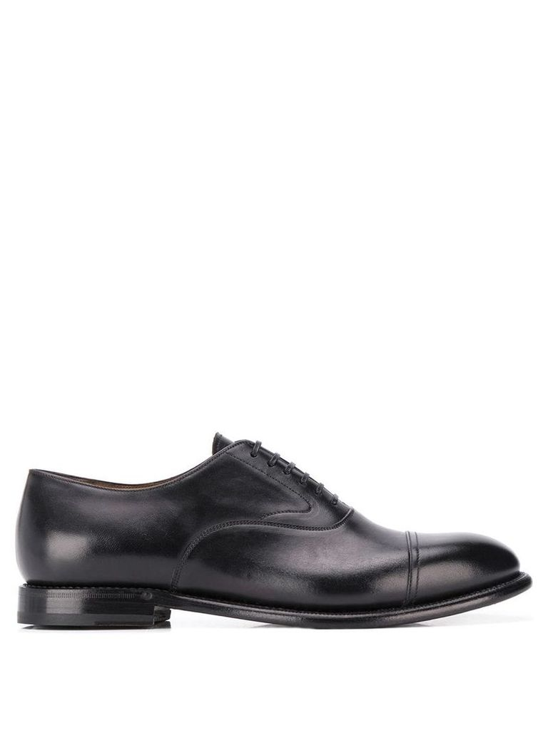 Silvano Sassetti classic oxford shoes - Black
