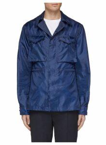 Interior elastic waist field jacket