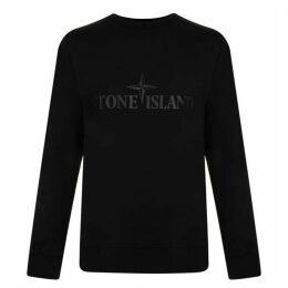 Stone Island Double Fronted Sweatshirt
