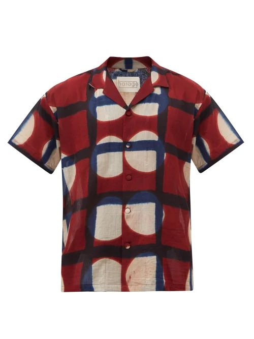 Want Les Essentiels - Kastrup Cotton Canvas And Leather Backpack - Mens - Beige