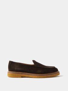 Versace - Medusa Head Leather Backpack - Mens - Black