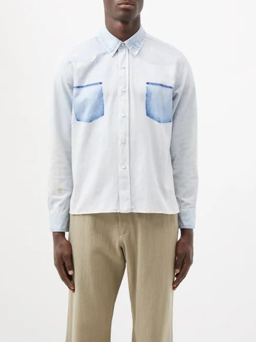 Rick Owens Drkshdw - Photographic Patch Canvas Backpack - Mens - Beige