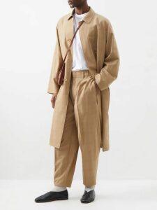 Salle Privée - Seph Slim Leg Wool Blend Trousers - Mens - Navy
