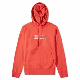 Resort Corps Empathy Hoody Washed Red
