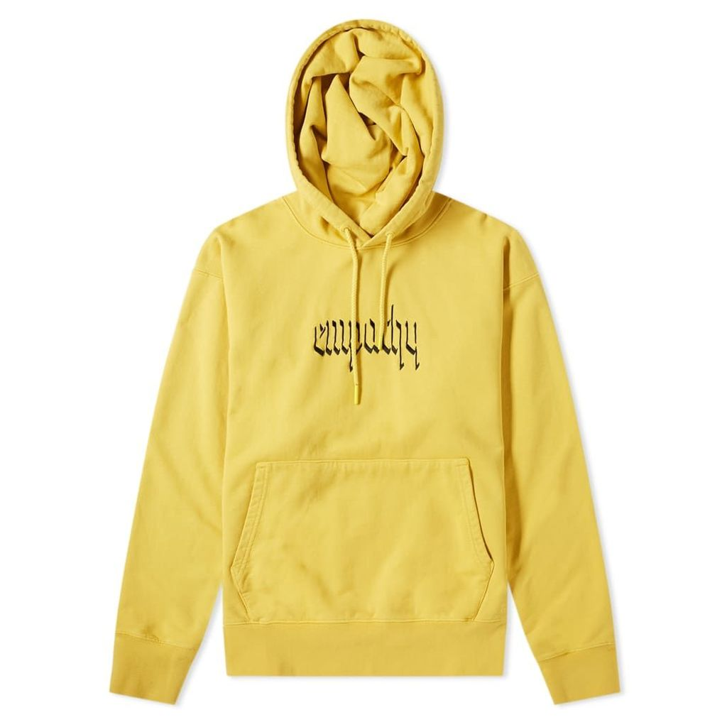 Resort Corps Empathy Hoody Washed Yellow