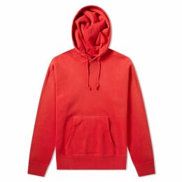 RRL Double V Pullover Hoody Americana Red
