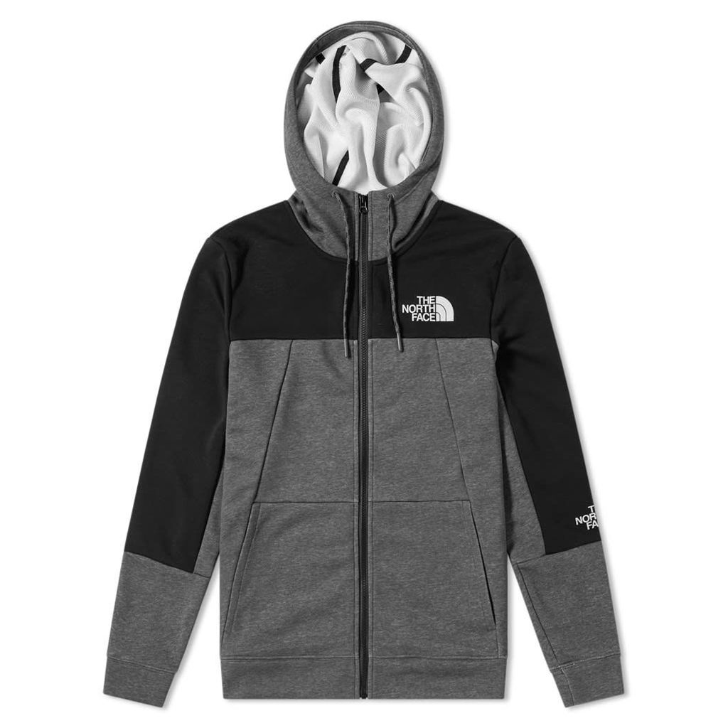 The North Face Light Full Zip Hoody Medium Grey Heather