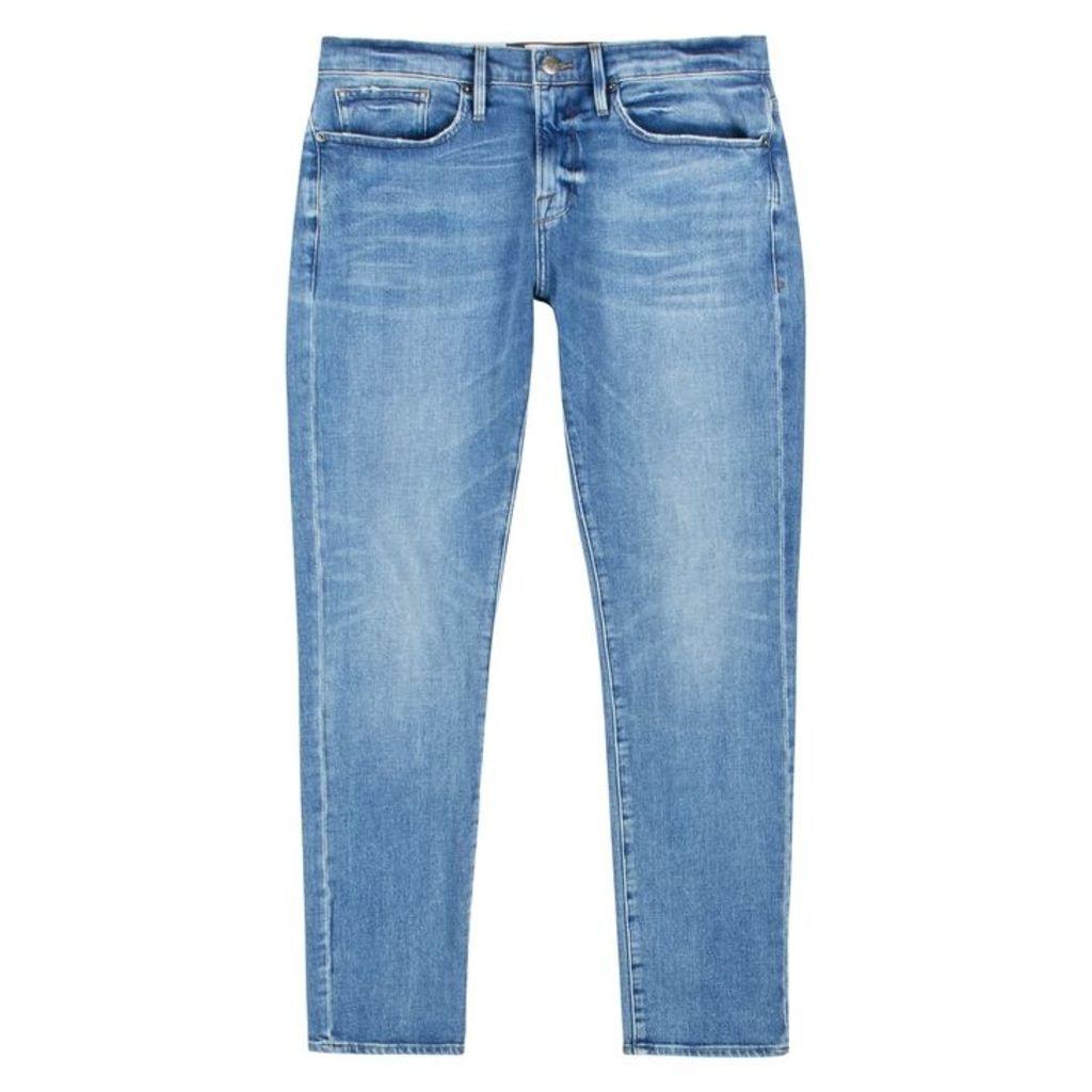 Frame Denim L'Homme Blue Slim-leg Jeans