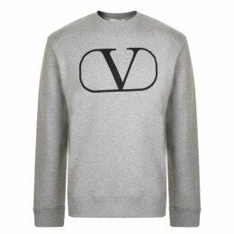 Valentino Vlogo Crew Neck Sweatshirt