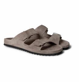 ce0c270119d Officine Creative - Agora Suede Sandals - Gray