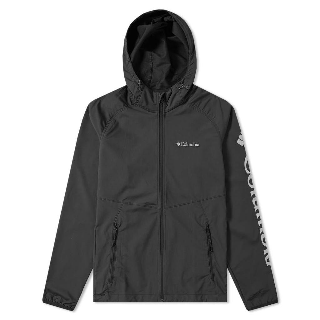 Columbia Panther Creek Soft Shell Jacket Black & White