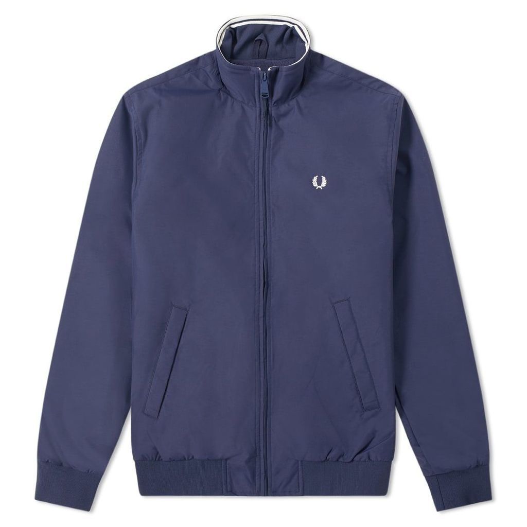 Fred Perry Brentham Jacket Carbon Blue