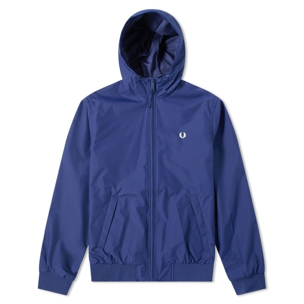 Fred Perry Hooded Brentham Jacket Sapphire