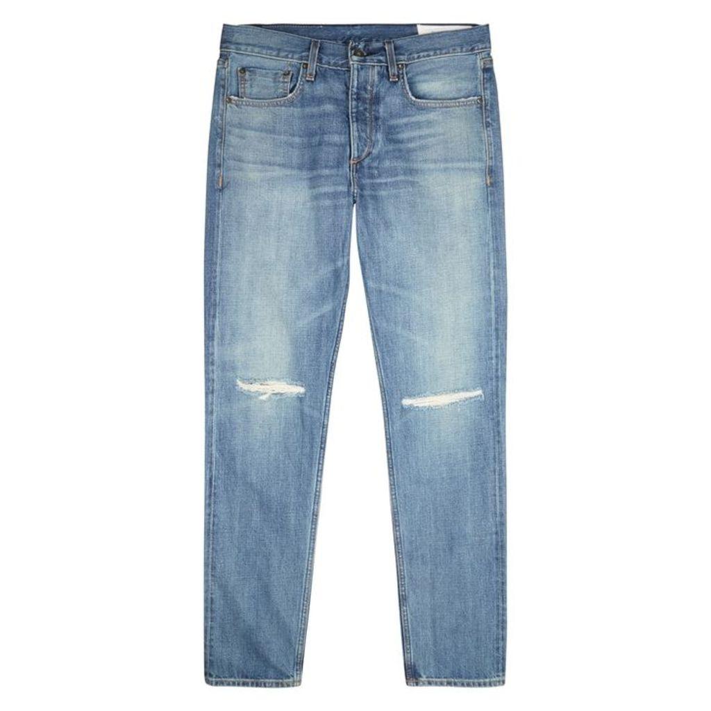Rag & Bone Blue Slim-leg Jeans