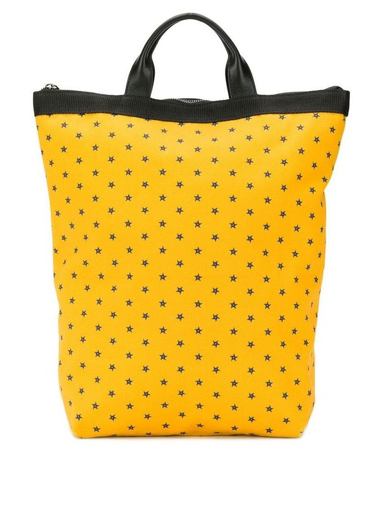 Fefè star pattern backpack - Yellow