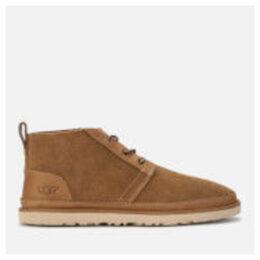 UGG Men's Neumel Unlined Leather Chukka Boots - Chestnut - UK 10
