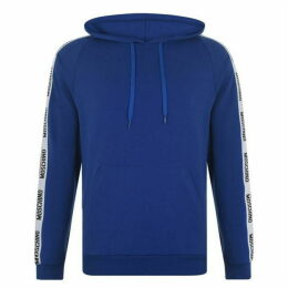 Moschino Logo U Tape Hooded Sweatshirt