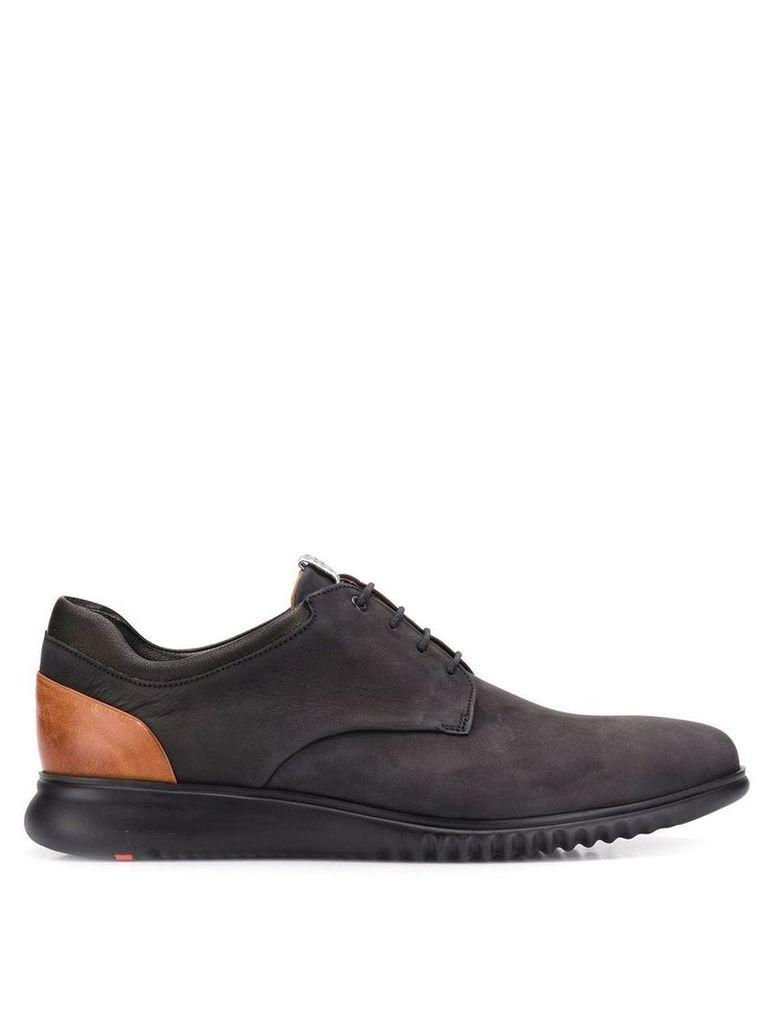 Lloyd lace-up panel shoes - Black