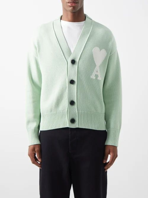 President's - Tie Dyed Hooded Wool Blend Top - Mens - Khaki