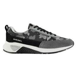 Diesel Camouflage Low Lace Trainers