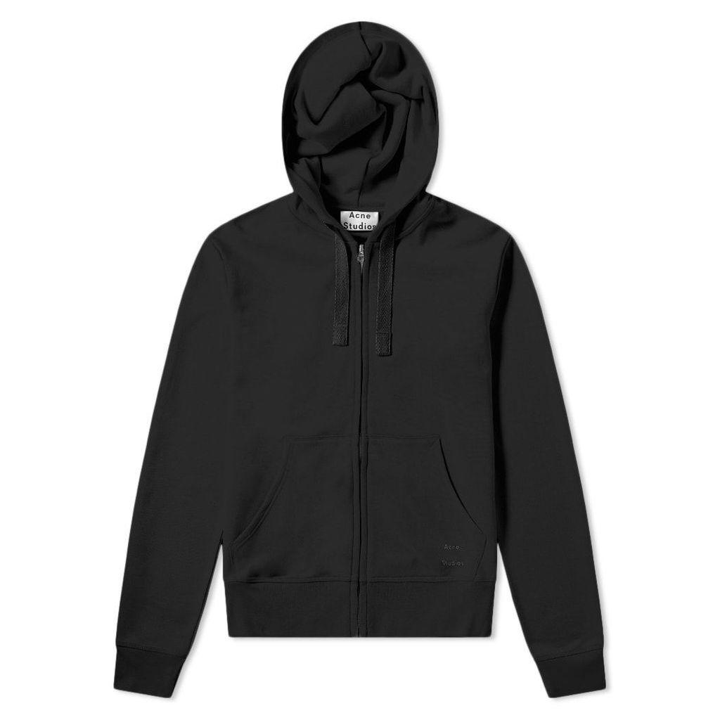Acne Studios Frake Zip Hoody Black