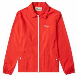 Drôle de Monsieur Not From Paris Coach Jacket Red