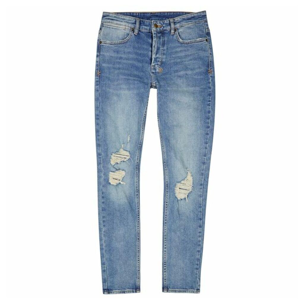 Ksubi Vanwinkle Distressed Skinny Jeans