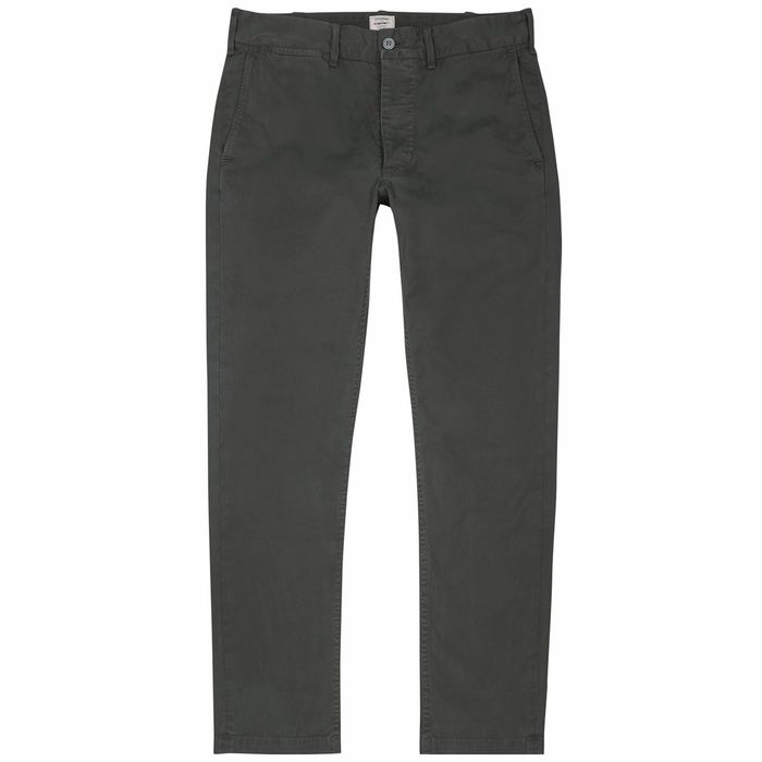 Citizens Of Humanity Logan Charcoal Cotton-blend Chinos