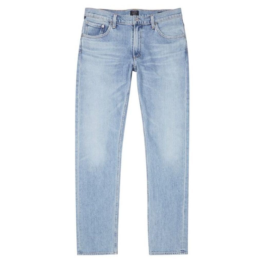 Citizens Of Humanity Bowery Light Blue Slim-leg Jeans