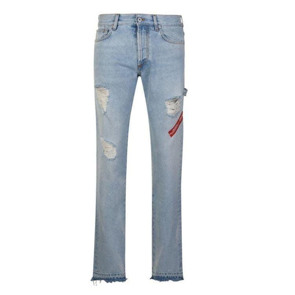 Heron Preston Hammer Jeans