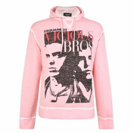 DSquared2 Vicious Bros Hooded Sweatshirt