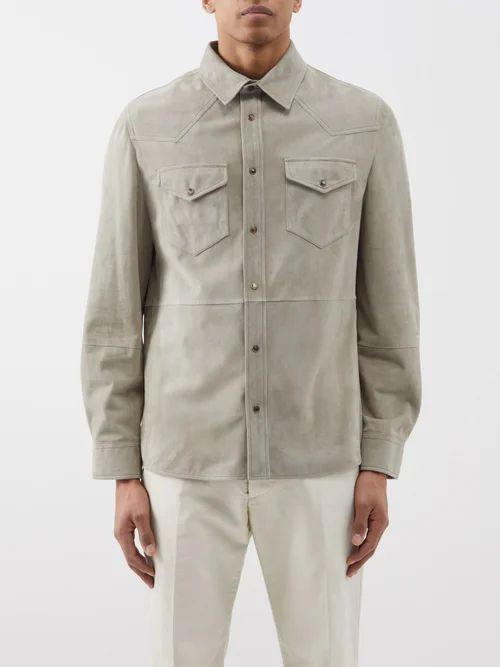Eytys - Benz Wide Leg Jeans - Mens - Cream