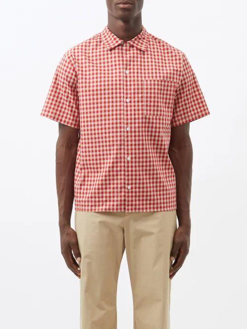 Y/project - Reversible Cotton And Linen Blend Sweatshirt - Mens - Grey