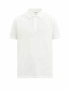 Saturdays Nyc - Bowery Logo Print Cotton Sweatshirt - Mens - Grey