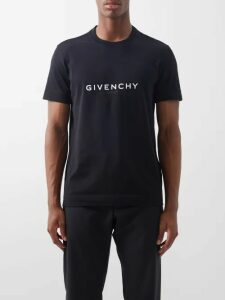 All At Sea - Anchor Print Silk Pyjama Trousers - Mens - Red