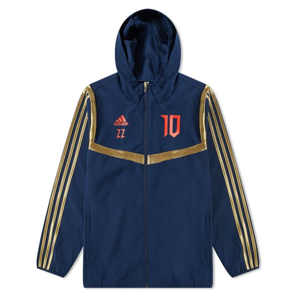 Adidas Consortium Predator Zidane Jacket Collegiate Navy & Red