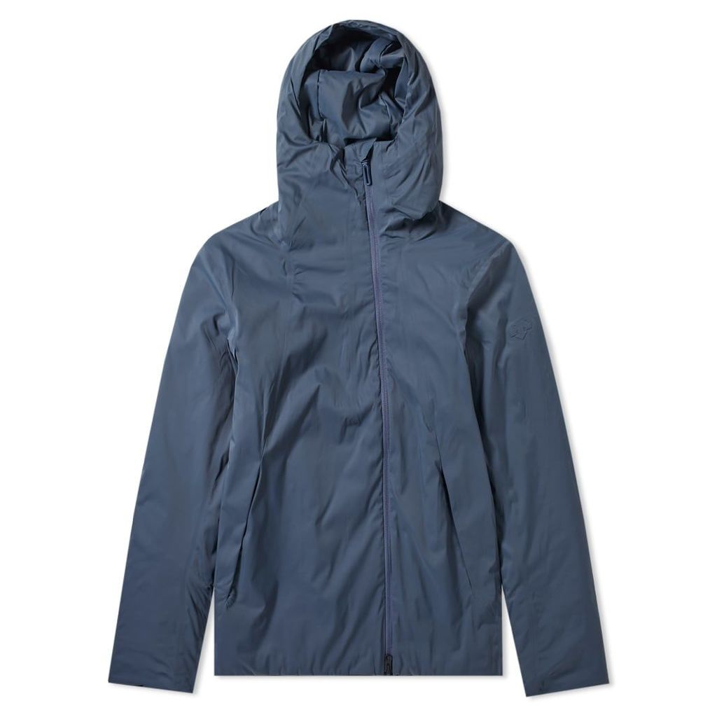 Descente Allterrain Perforated Insulation Hooded Jacket Slate Navy