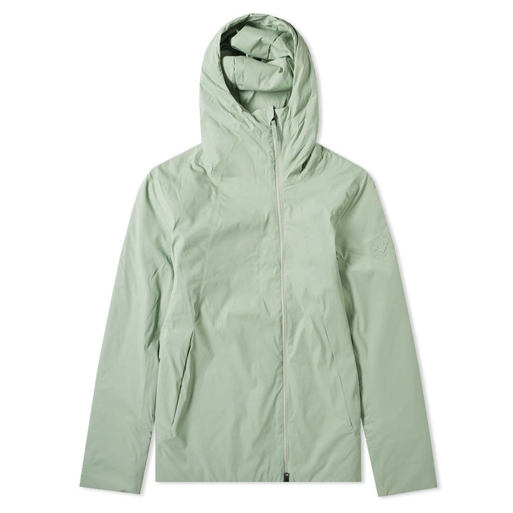 Descente Allterrain Perforated Insulation Hooded Jacket Storm Green