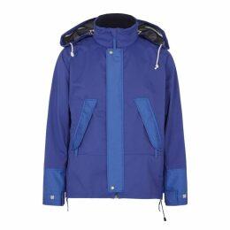 Junya Watanabe MAN Blue Water-repellent Shell Jacket