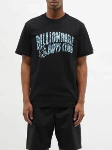 Saint Laurent - Miles Buckled Leather Boots - Mens - Black
