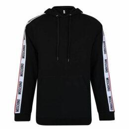 Moschino Tape Logo Hooded Sweatshirt