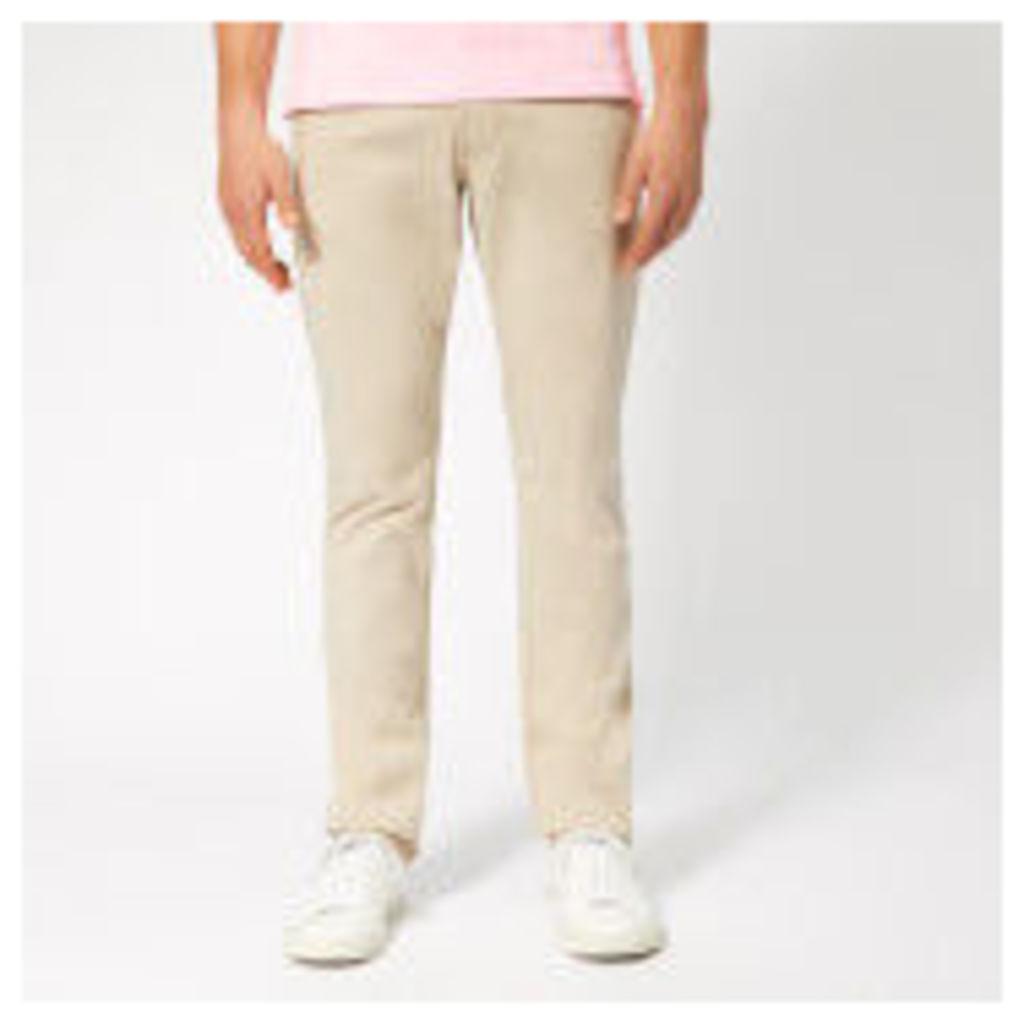 Emporio Armani Men's 5 Pocket Gabadine Jeans - Beige - W36/L30 - Beige