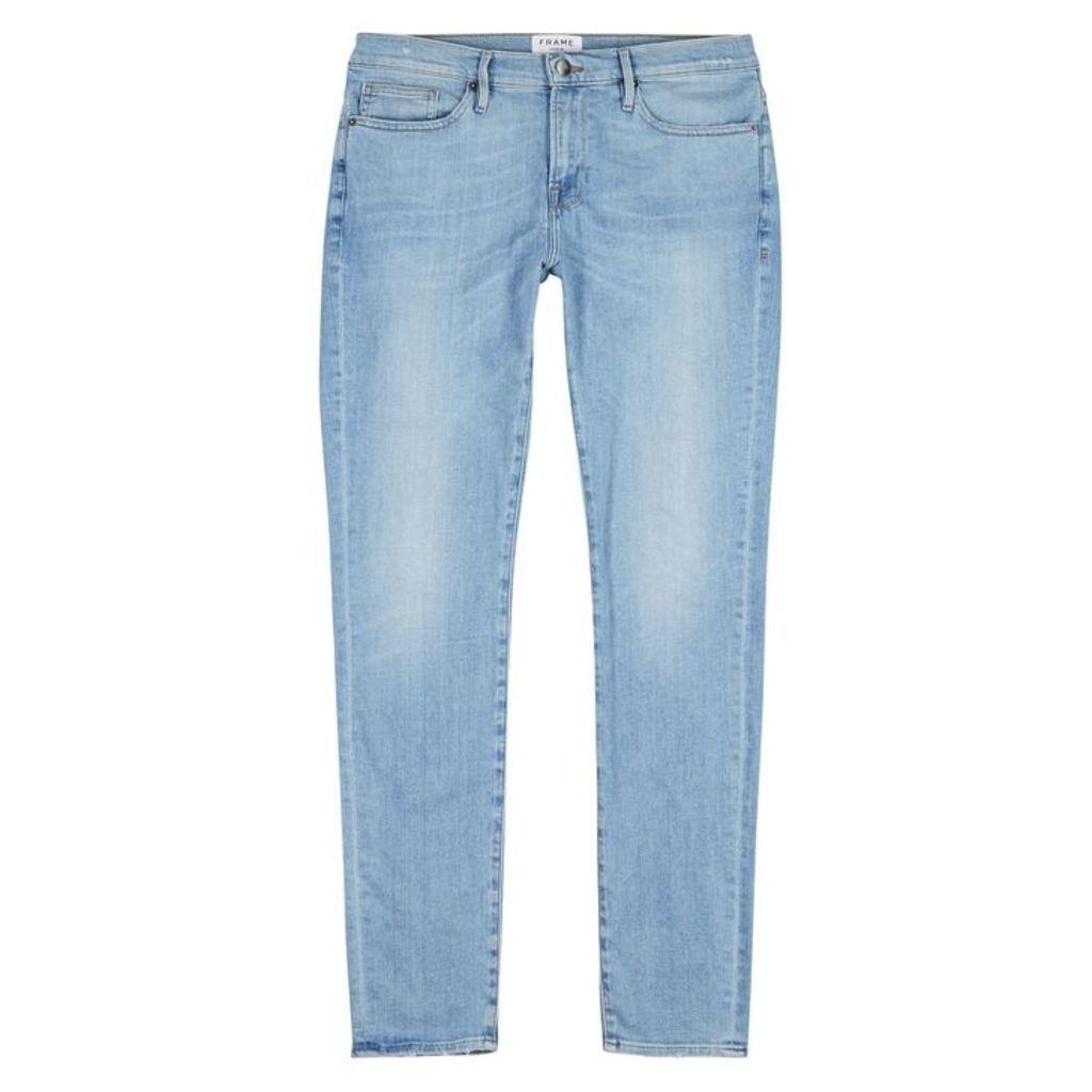 Frame Denim Jagger Blue Skinny Jeans