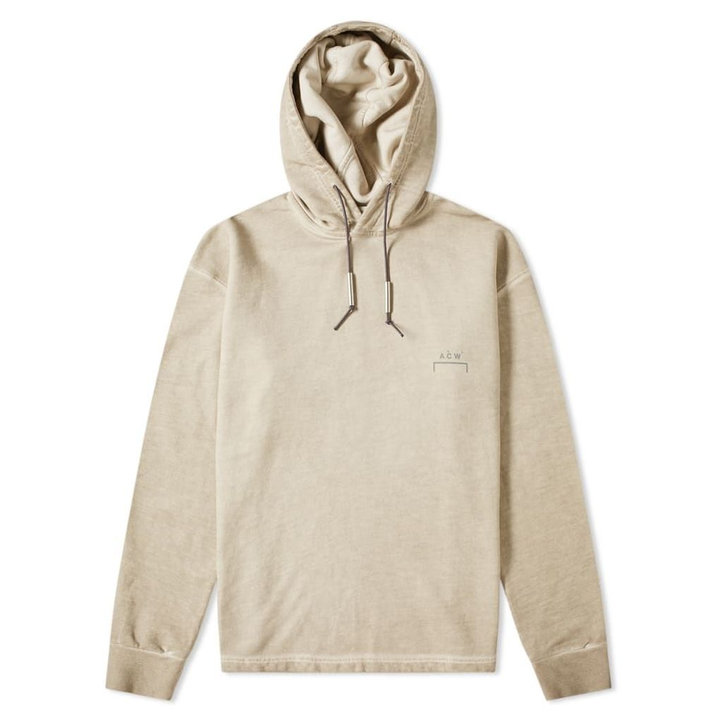 A-COLD-WALL* Logo Popover Hoody Taupe