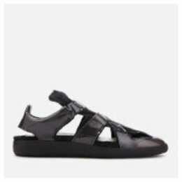 Maison Margiela Men's Cut Out Sandals - Black Fume