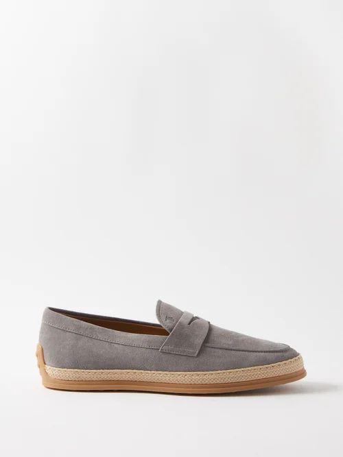 1017 Alyx 9sm - Logo Print Slim Leg Cargo Jeans - Mens - Blue