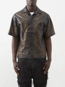 Burberry - Chalk Striped Wool Twill Trousers - Mens - Navy Multi