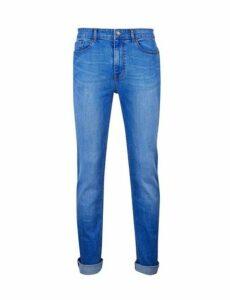 Mens Hyper Blue Blake Slim Fit Jeans, Blue