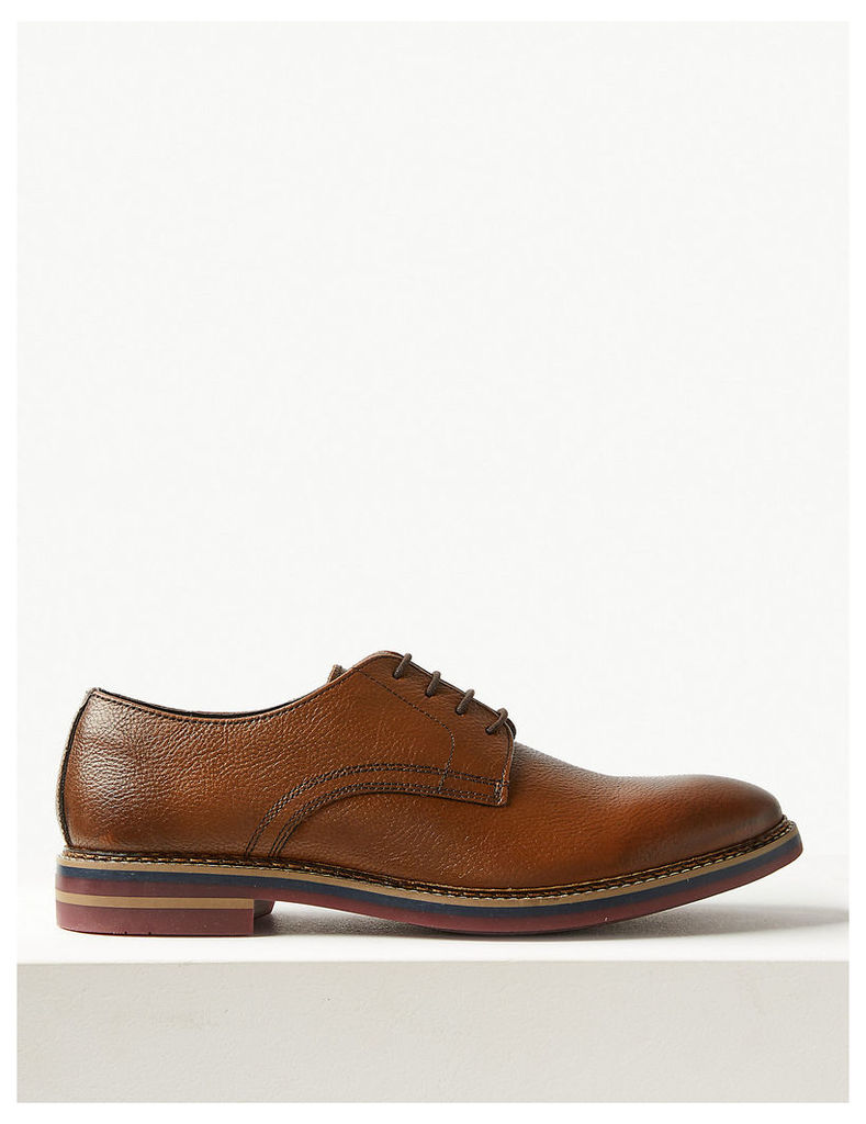 M&S Collection Leather Lace-up Derby Shoes